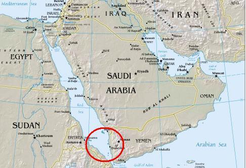 Аравийский полуостров где находится